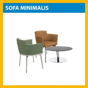 Jual Sofa Kantor Minimalis, Harga Murah, Banyak pilihan merk dan model