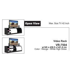 Jual Meja Rak TV Expo VR 7504 Murah & Baru di Jakarta