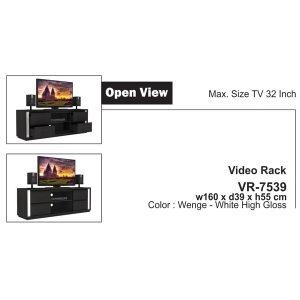Jual Meja Rak TV Expo VR 7539 Murah & Baru di Jakarta